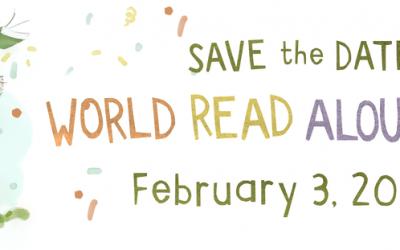Celebrate World Read Aloud Day on Feb 3, 2021!